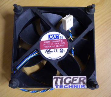 AVC DS09225R12H FRU 43N9908 4-pol 92mm Gehäuse Lüfter ThinkCentre M58* gl12
