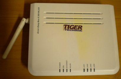 Arcor-EasyBox A 300 WLAN Router Modem ADSL ADSL2+ 4x LAN 2,4GHz* nw449
