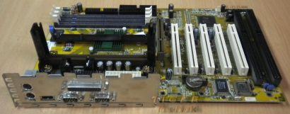 FIC VL-601 Mainboard Motherboard mit Blende * Slot 1 2x ISA SD-RAM * m77