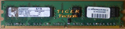 Kingston KVR667D2N5 1G PC2-5300 1GB DDR2 667MHz 9905316-105 A00LF RAM* r319