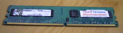 Kingston KVR667D2N5 1G PC2-5300 1GB DDR2 667MHz 9905316-056 A01LF RAM* r322