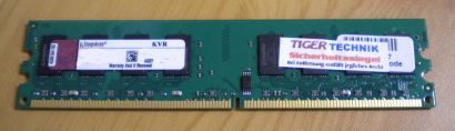 Kingston KVR667D2N5 1G PC2-5300 1GB DDR2 667MHz 9905315-111 A00LF* r326