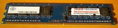 Nanya NT1GT64U88D0BY-3C PC2-5300U 1GB  DDR2 667MHz 0825 TW RAM* r342