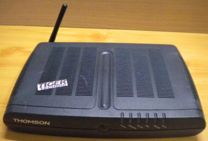 Thomson TG787v WLAN Router Modem 4x LAN 1x USB 54 Mbps* nw473