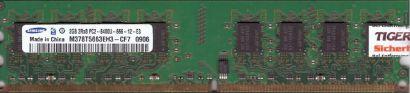 Samsung M378T5663EH3-CF7 PC2-6400 2GB DDR2 800MHz 0906 RAM* r348