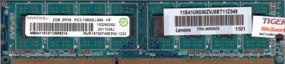 Ramaxel RMR1870EF48E8W-1333 PC3-10600U 2GB DDR3 1333MHz CL9 Arbeitsspeicher*r350