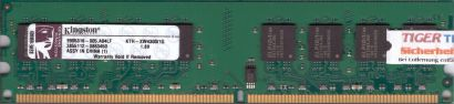 Kingston KTH-XW4300 1G PC2-5300 1GB DDR2 667MHz 9905316-005 A04LF RAM* r365