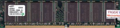 Samsung M368L6423DTL-CB3 PC-2700 512MB DDR1 333MHz Arbeitsspeicher DDR RAM* r366