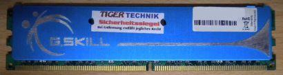 G.Skill F2-8500CL5D-4GBPK PC2-8500 2GB Speicher DDR2 1066MHz 2.0v-2.1v RAM* r367