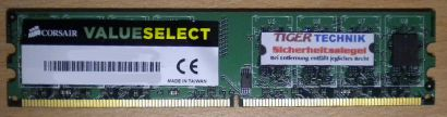 Corsair Valueselect VS512MB533D2 PC2-4200 512MB DDR2 533MHz 0646251 RAM* r370