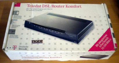 Deutsche Telekom Teledat DSL Router Komfort Modem 4x port* nw480