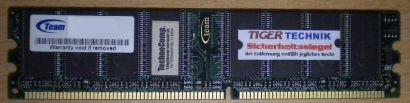 Team RTM512DB4006AL PC3200 512MB DDR1 400MHz RAM* r372