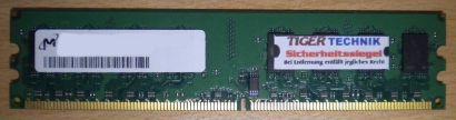 Micron MT16HTF25664AY-800G1 PC2-6400 2GB DDR2 800MHz 200920 CBNDQZ2010 RAM* r374