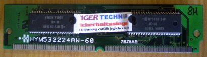 Hyundai HYM532224AW-60 8MB EDO SIMM Memory 7B75AE RAM* r378