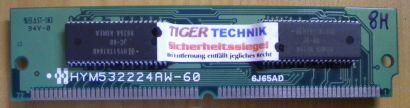 Hyundai HYM532224AW-60 8MB EDO-RAM SIMM Memory 6J65AD RAM* r384