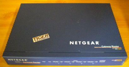 Netgear RT314 Internet Access Gateway Router 4x LAN 1x WAN port* nw490