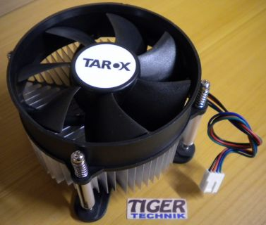 Tarox 92mm 4-pin Sockel 775 Prozessorkühler CPU Lüfter + Backplate* ck15