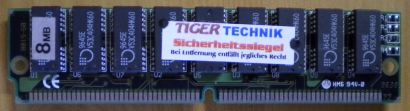 EDO-RAM 8MB Chip Nr. 16x 9645E V53C404HK60 2x KM44C1003CJ-7 RAM* r390