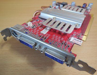 MSI NX8600GTS-T2D256EZ-HD Grafikkarte passiv PCI-E 256MB Dual DVI TV-Out* g67