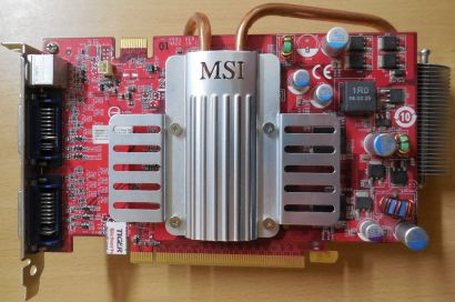 MSI NX8600GTS-T2D256EZ-HD Grafikkarte passiv PCI-E 256MB Dual DVI TV-Out* g67