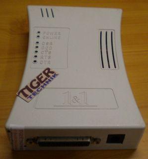 1&1 Skyconnect 33600 VF V.34+ Modem 1x Port SN 8425* nw495