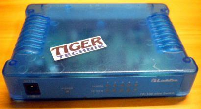 LinkPro 10 100 Mini Switch 5x Ports* nw513