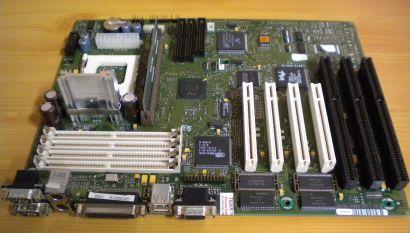 FSC D969-B11 GS2 ATX Mainboard Sockel 7 EDO-RAM 3x ISA VGA Grafik PCI USB* m693
