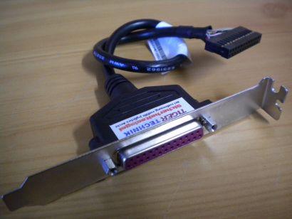 Lenovo Parallel Slotblende Kabel zu Mainboard 43N9022 43N9023 43N9024* pz213