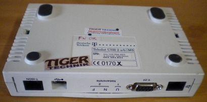 Deutsche Telekom Teledat USB 2 a b Anschlüsse TAE-Buchsen 1 USB ISDN* nw521