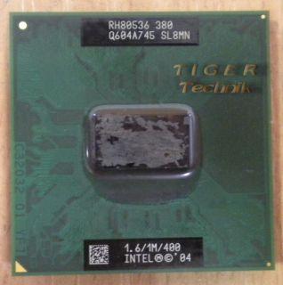 CPU Prozessor Intel Celeron M 380 SL8MN 1.6GHz 400MHz FSB 1M Cache* c481
