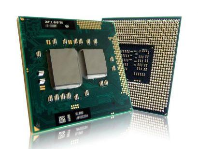 CPU Prozessor Intel Core i3-350M SLBPK 2x2.26GHz 3M L3 Sockel G1 HD Grafik* c485