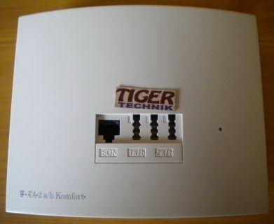 Deutsche Telekom TA 2 a b Komfort ISDN Terminaladapter* nw528