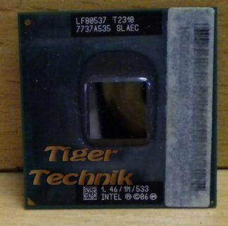 CPU Intel Pentium Dual Core T2310 SLAEC 2x1.46GHz 533MHz FSB 1M Sockel P* c488