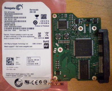 Seagate ST250DM000 1BD141-500 SATA 250GB PCB Controller-Elektronik Platine* fe07