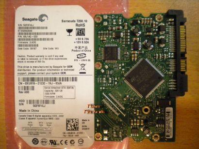 Seagate ST3320620AS 9BJ14G-033 SATA 320GB PCB Controller-Elektronik Platine*fe08
