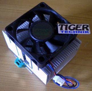 AMD Foxconn NBT-K0010AW1DBWCB-001 Sockel A 462 60mm 3-pol CPU Lüfter* ck69