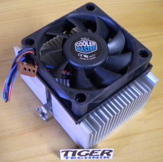 Cooler Master AMD Sockel 939 940 AM2 AM3 FM1 754 60mm 3-pol CPU Lüfter* ck72