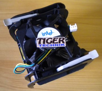 Orig. Intel C33224-003 Sockel 478 3-pol 70mm Alu + Kupfer CPU Lüfter* ck88