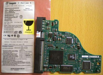 Seagate ST320413A 9R4003-401 IDE 20GB PCB Controller-Elektronik Platine* fe26