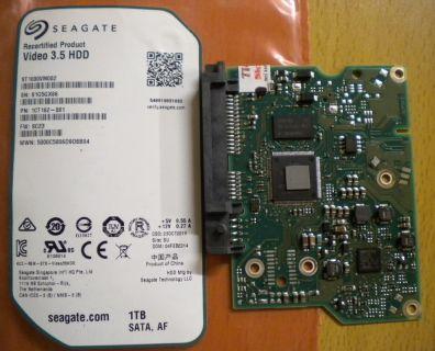Seagate ST1000VM002 1CT162-881 SATA 1 TB PCB Controller-Elektronik Platine*fe27
