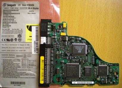 Seagate ST320423A 9R5004-110 IDE 20.4GB PCB Controller Elektronik Platine* fe29