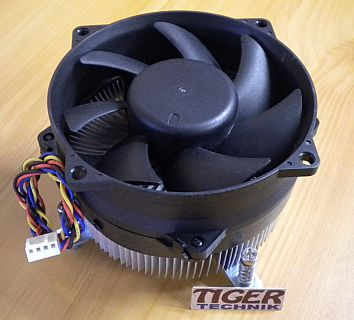 FOXCONN HI.3670C.001 ACER Packard Bell CPU Kühler 92mm Lüfter Sockel LGA775*ck45