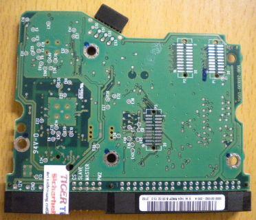 WD Caviar WD600AB-00CDB0 IDE 60GB PCB Controller-Elektronik Platine* fe50