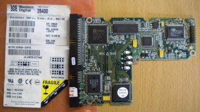 WD Caviar AC28400-07RTT0 IDE 8455.2MB PCB Controller-Elektronik Platine* fe54