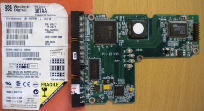 WD Caviar WD307AA-00ANA0 IDE 30.7 GB PCB Controller-Elektronik Platine* fe55