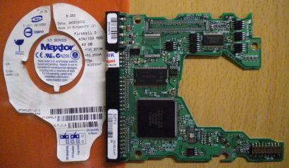 Maxtor VAM51JJ0 2F040J0310613AAA IDE 40GB PCB Controller Elektronik Platine*fe63