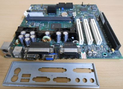 Intel AA 752215-104 SR440BX Mainboard + Blende Slot 1 ISA PCI VGA Audio* m700