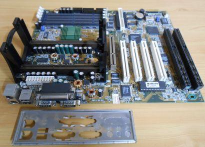 Asus P2B-DS Rev1.04 Mainboard +Blende 2x ISA DUAL Slot 1 Intel 440BX SCSI* m701