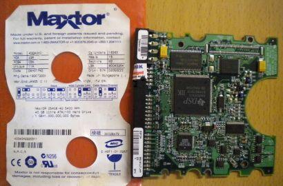 Maxtor 4D040H2 DAH017K0 IDE 40GB PCB Controller Elektronik Platine*fe83