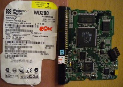 Western Digital WD200EB-11CPF0 IDE 20 GB PCB Controller Elektronik Platine* fe90